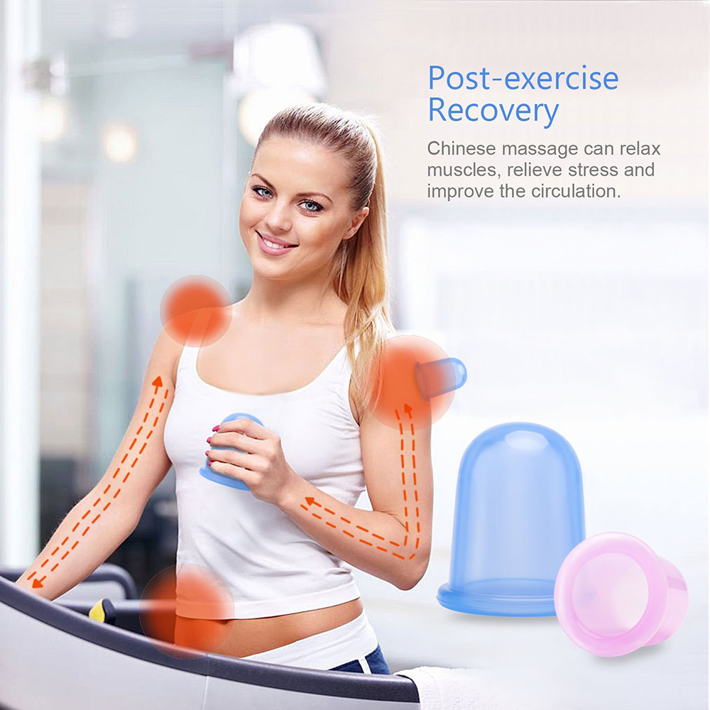 At Home Cupping Therapy: Amazon Hot Selling Home Use Vacuum Silicone Anti Cellulite