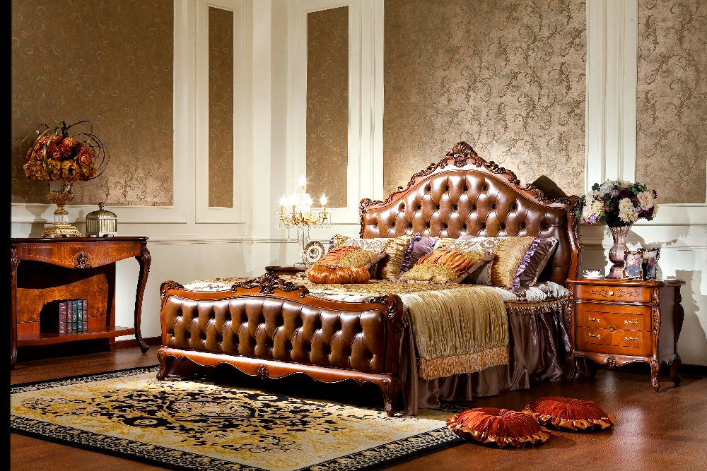 0052 American Style Classic Bedroom Furniture Collection