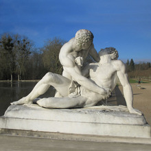 Statues of gay sex
