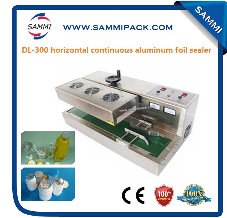 high efficiency horizontal plastic cup with aluminum foil lid sealer
