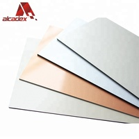 Factory price aluminium composite panel Design acp sheet