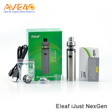 2017 Trending E Cigarette Pen Kit Products Eleaf iJust NexGen With Dual Circuit Protection