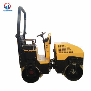 factory suppliers 1 ton vibratory used road roller for sale
