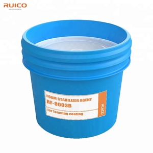 High efficiency chemical foam stabilizer agent for foaming coating of  fabrics RF-8003B