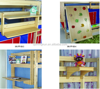 Pine Bunk Loft Bed Accessory Buy Bed Shelf Very Cheap Bunk Bed