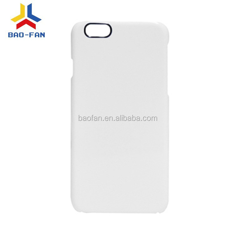 New arrive 3D Film Sublimation blank phone case for IP6 4.7inch