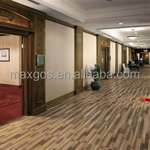 Ceramic Matte Floor Tiles For House Number With Wood Texture