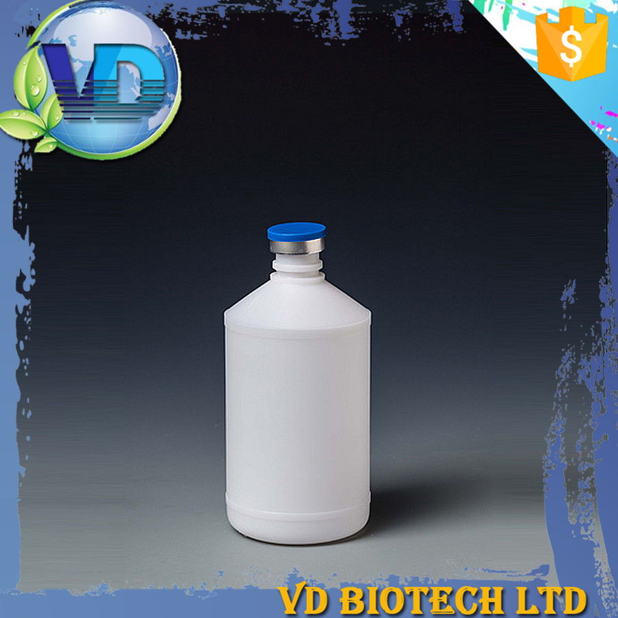 Cylinder 250ml HDPE vaccine plastic joyshaker bottle water with tamper proof cap