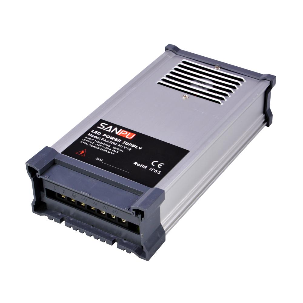 350w 12v Regulated Supply Unit 30a Led Driver 220v Ac To Dc 12volt Lighting Transformer Rainproof For Outdoor Leds Ip44