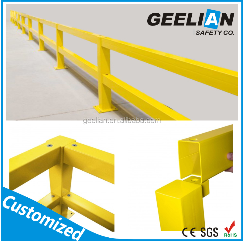 safety Aluminum crowd Barrier stage guardrail system