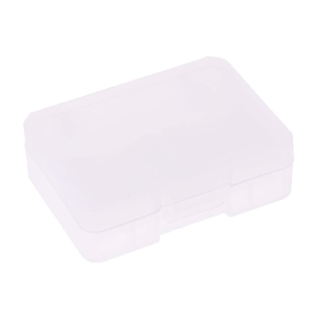 uxcell Plastic 8 Slots Micro SD TF MS SDHC Memory Card Storage Holder Box White