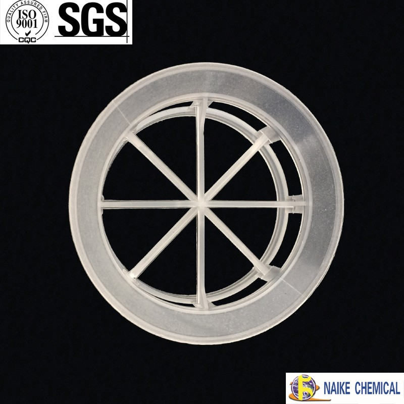PP PE PVC Plastic Cascade Mini Ring For Chemical tower Packing