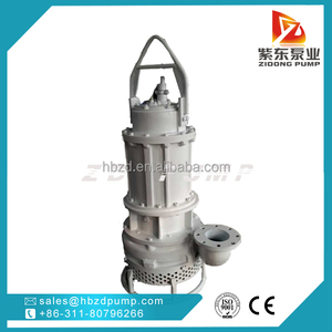 high chrome submersible slurry sand pump