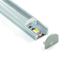 shenzhen coxo expert in led lighting PMMA clear diffuser recessed linear al profile with lens 60 degrees