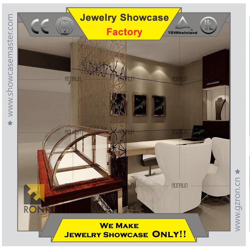 Modern Jewellery Showroom Designs,Glass Jewelry Display Shop ...