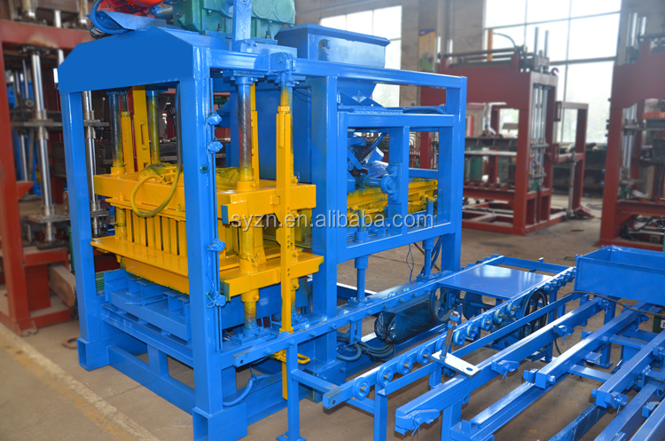 QTJ4-25 cement brick making machine/hollow brick making machine/fly ash brick making machine