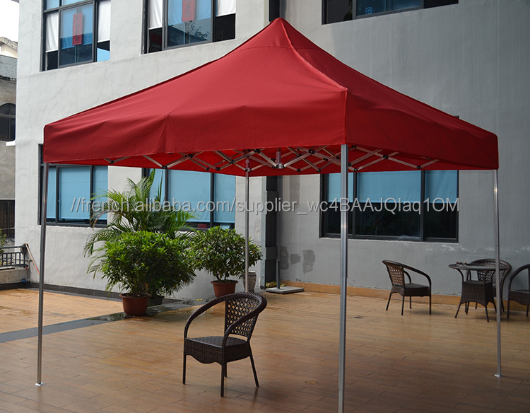 Patio jardin toile plage chapiteau camping tente portable - Auvent de jardin en toile ...