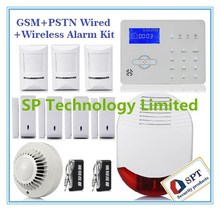 2015 GSM Alarm System Touch keypad, Wireless GSM Alarm System SIM Card, wireless smart Security Alarm Security System Wholesale