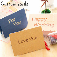 Custom cheap birthday holiday greeting cards