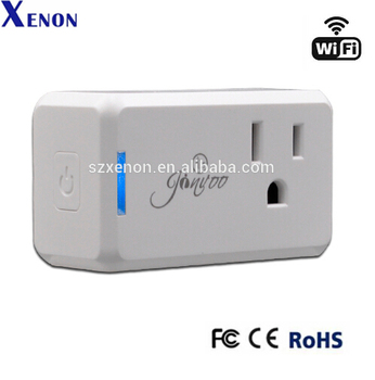 Jinvoo Wi-fi Smart Plug Wireless Remote Control Mini Outlet With Schedule  Works With Alexa - Buy Mini Plug,Smart Wifi Socket,Amazon Alexa Product on