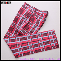 Casual Lattice golf Pocket Men Trousers