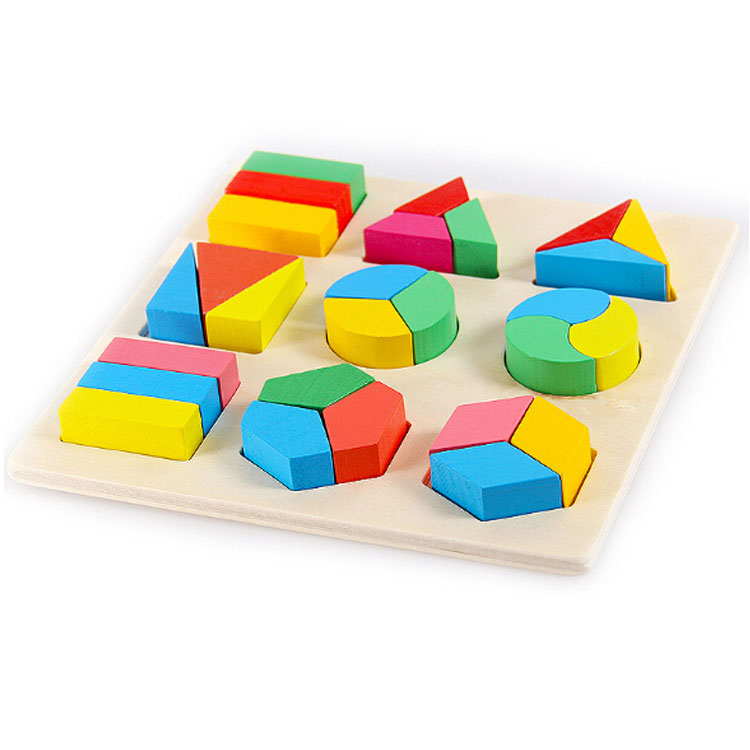 Wholesale cute baby interesting early educational sliding 100000 piece jigsaw wooden puzzle