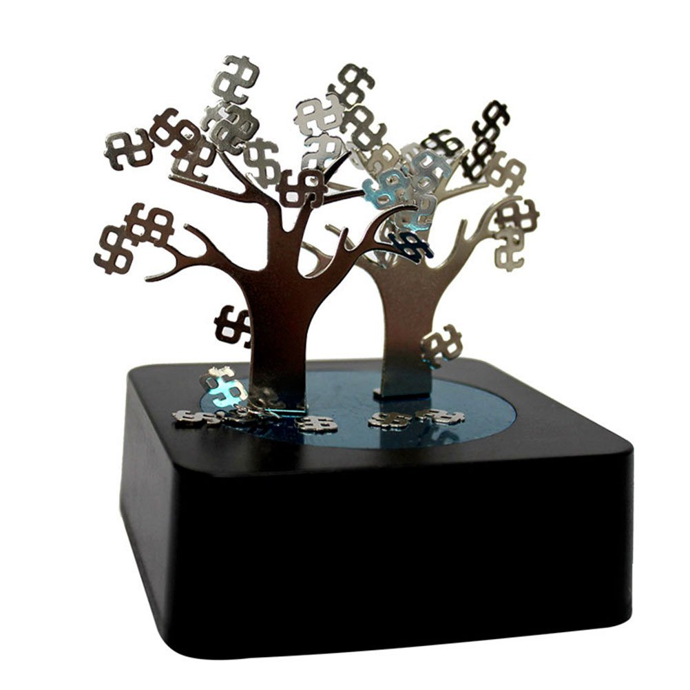 NUOLUX DIY Magnetic Money Tree Sculpture Block Toy for Intelligence Development Stress Relief