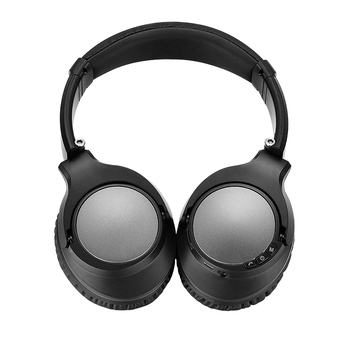 Foldable BT headset with built in mic/rechargeble battery, stereo headphone