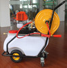 50L Gasoline Engine Powered Garden Sprayer With Long Hose Agricultural Gasoline Sprayer