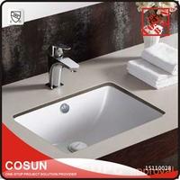 Modern Small Foshan Ceramic Undermount Bathroom Sinks