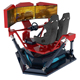 Super Racing Game 3 Screen F1 Racing Car Motion Platform Driving Simulator