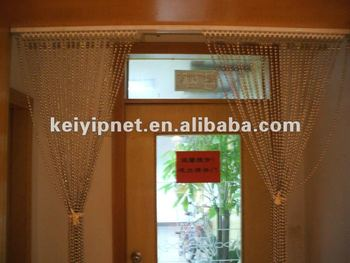 Decorative Metal Beaded Door Curtain Metlal Curtains - Buy Metal ...