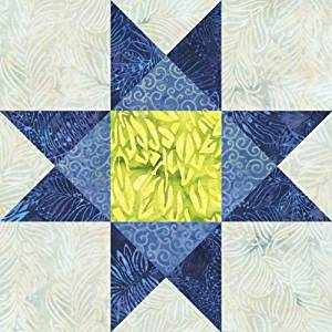 AccuQuilt GO! Fabric Cutting Dies, 12-Inch, Ohio Star by AccuQuilt
