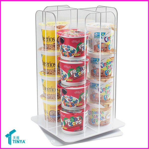 Wholesale Custom High Quality Lucite Deluxe Acrylic Wall Mounted Coffee Pods Dispenser