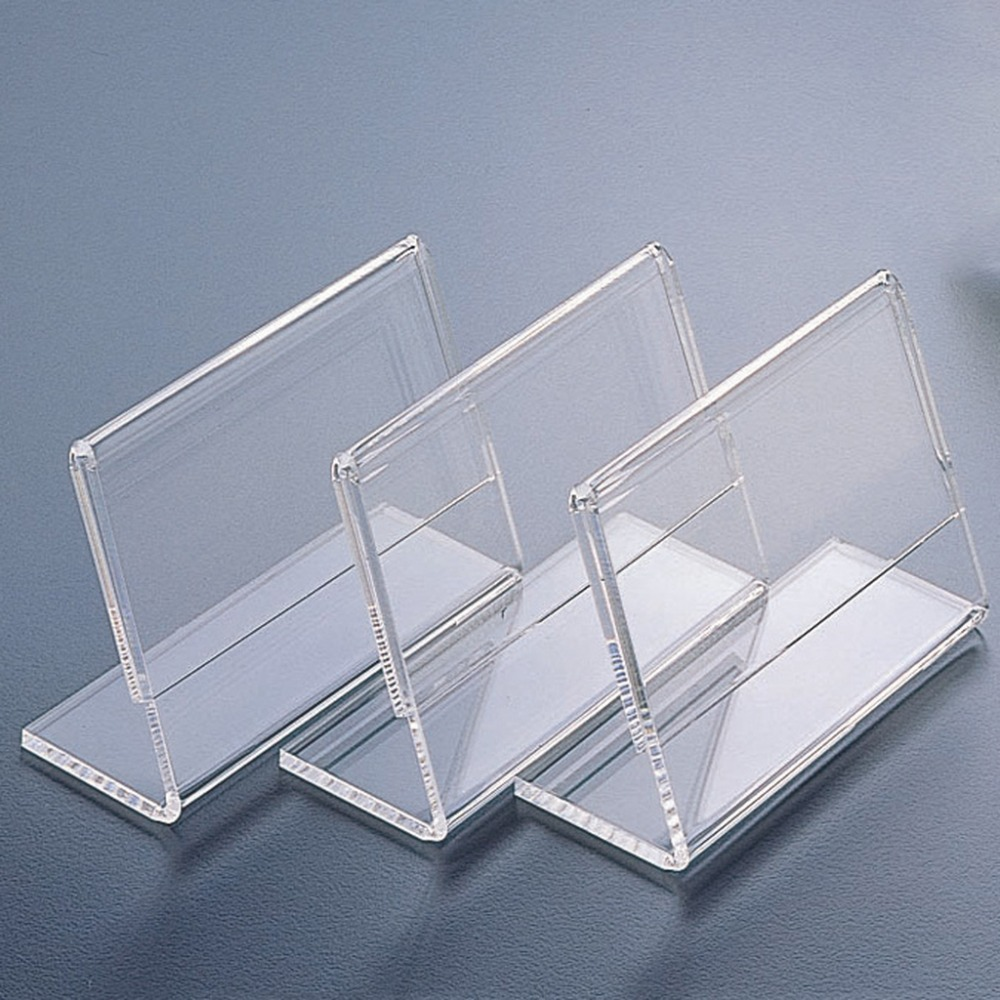 Clear Acrylic Name Card/ Business Card Display Stand