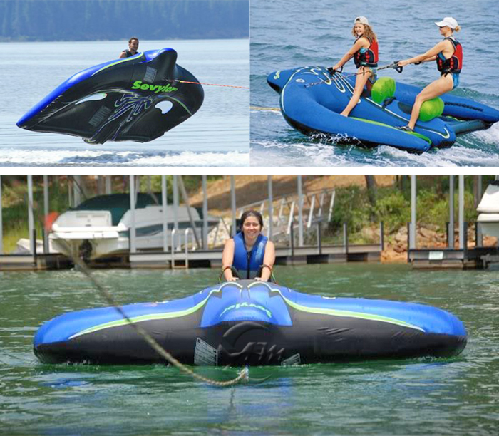 Inflatable Flying Fish Tube Towable Water Sports Inflatable Flying