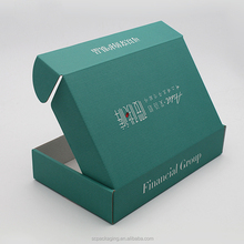 Best selling custom flat foldable corrugated box packaging