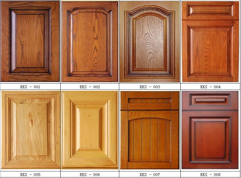 Pvc Mdf Möbel Küchenschrank Tür Massivholz Küchenschrank Schranktür ...