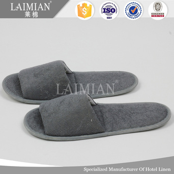 965d6d918a7a8 Terry Fabric Bathroom Open Toe Disposable Slippers - Buy Open Toe ...