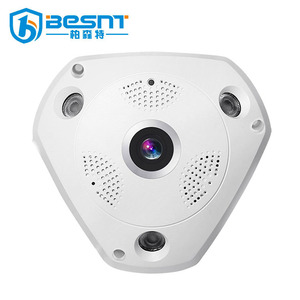 High Definition onvif hidden Surveillance IP Camera 360 degree fisheye panoramic camera ip67 BS-VR360M