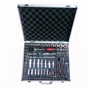 109PCS Professional Socket Set Swiss Tools With Hand Tools Aluminum Kit