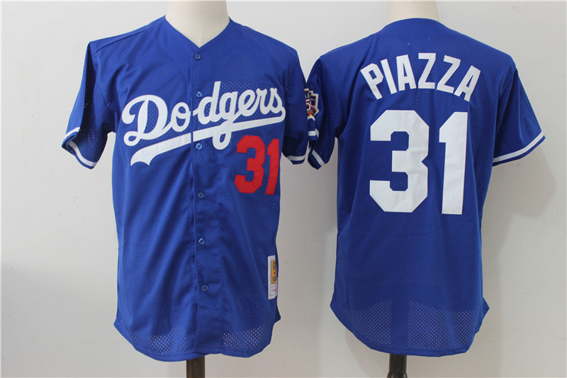 cheap for discount 6a166 bec45 31 mike piazza jersey dodgers