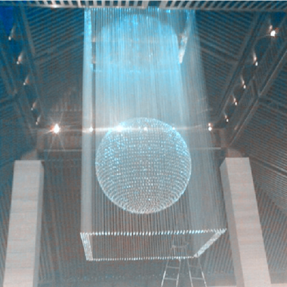 rgb full color glow kristallen kroonluchter voor hoge plafonds-kroonluchters en hanglampen ...