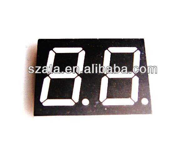 super white large segment led display