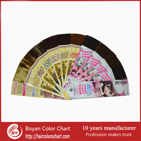 Top quality human hair extension popular hair color chart for Schwarzkopfe