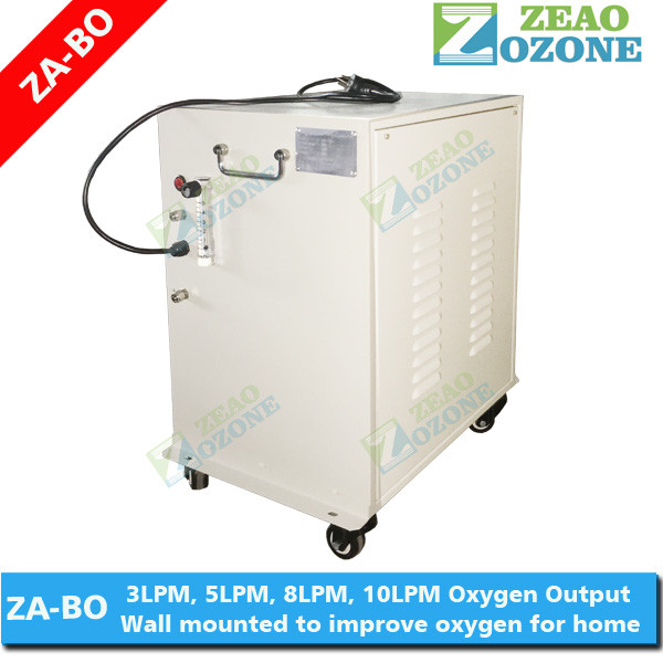 Personal oxigen concentrator for home use, longevity and easy operation oxygen machine
