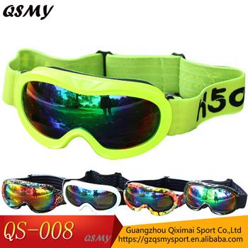 502051febc7 Best Selling Children Ski Goggles Custom Logo Strap Snow Goggles ...