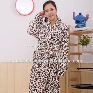 411555f630 Leopard Bathrobe