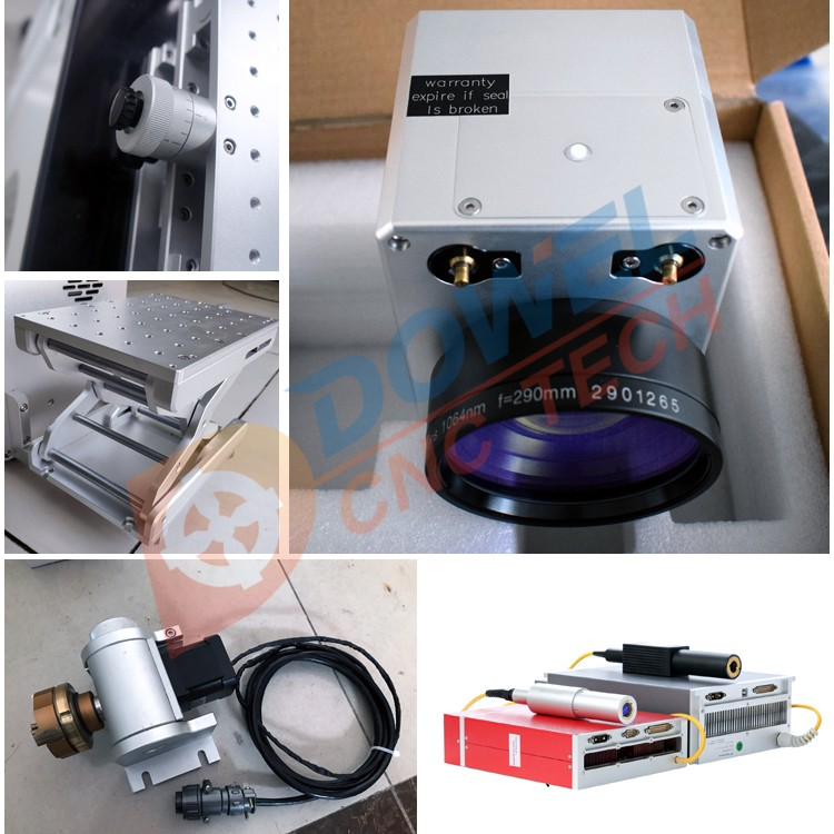 Metal laser galvanometer cutting CO2 beam combiner lens 25mm split marking machine