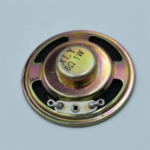 Buzzer Loudspeaker Diameter 57mm 1W Iron shell  Paper tray  Internal magnetism 8R ROSH
